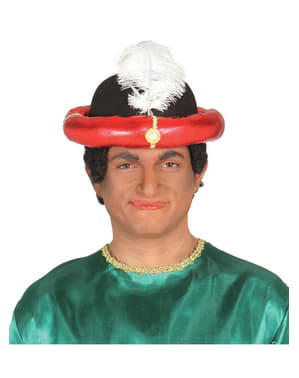 Rød Maharaja Hatt