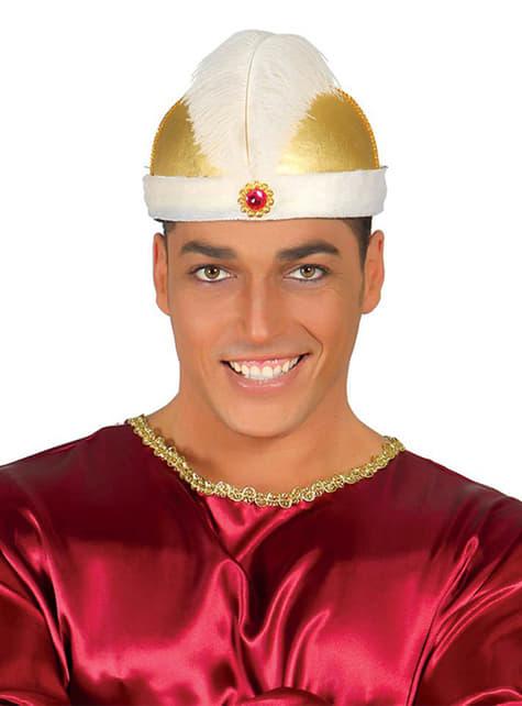 Gorro de Paje Real Dorado