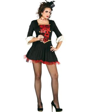 Sexy Vampir Gräfin Kostüm für Damen