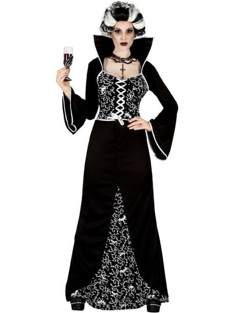 Fato de Vampiresa Aristocrata para mulher