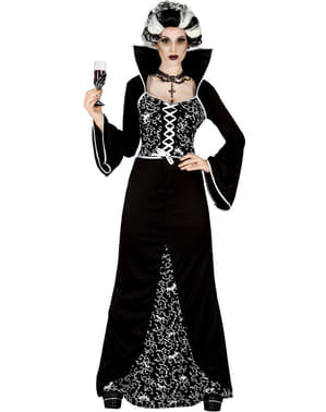 Aristokratisk Vampyr Kostyme Dame