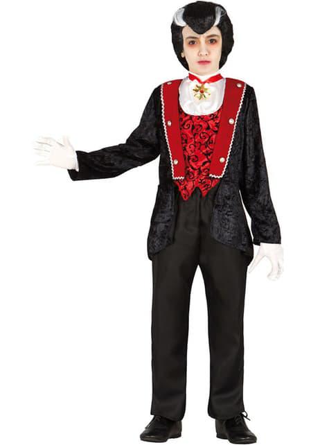 Vampier graaf kostuum voor jongens