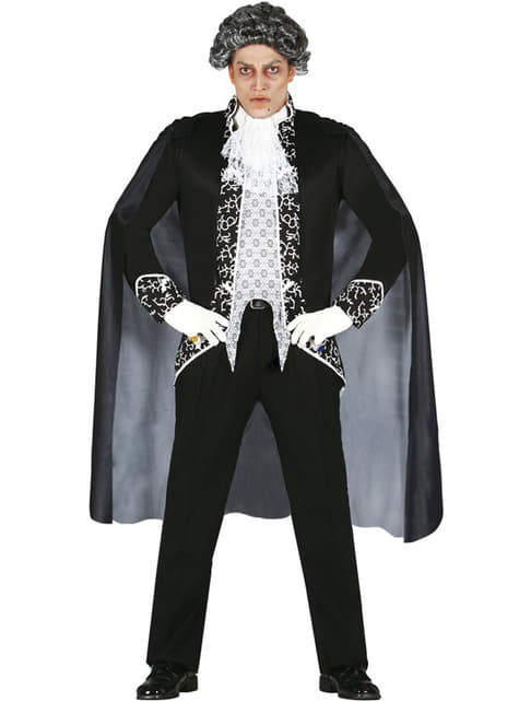 Fato de Vampiro Aristocrata para homem