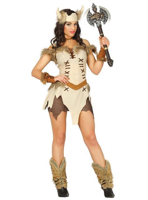 Disfraz de Vikinga Sexy para mujer