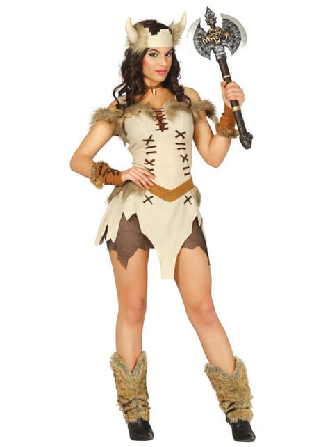 Womens Sexy Viking Costume