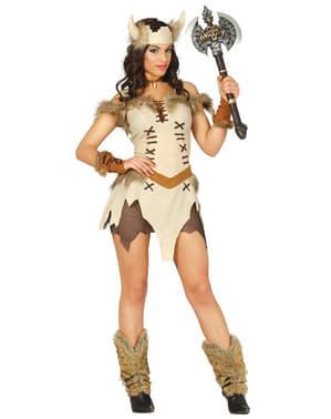 Sexy Viking Kostyme Dame