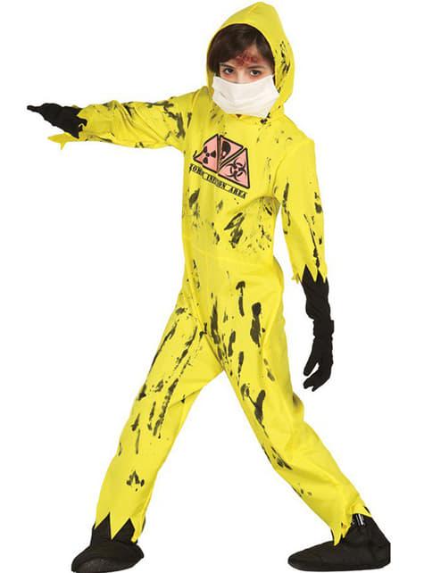 Zombie Nuklear Kostüm für Kinder