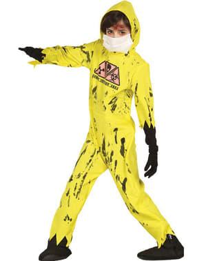 Dětský kostým radioaktivní zombie