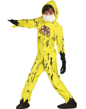 Kids Nuclear Zombie Costume