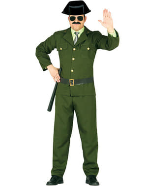 Polizeieinheit Kostüm für Erwachsene