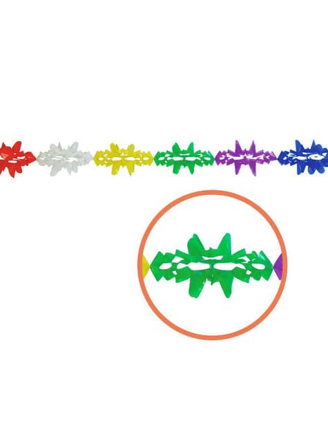 Muovinen Fantasia-lippuseinäkoriste 14 x 300 cm
