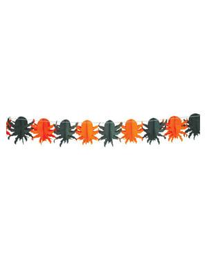Halloween fantasi-dekorasjonslenke 18 x 300cm