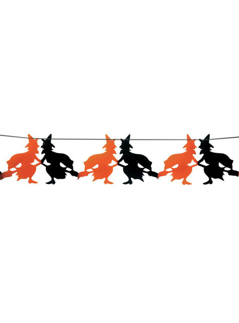 Slinger fantasie heksen halloween 23 x 300 cm
