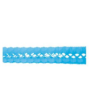 Hemelsblauwe slinger