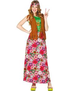 0b07dd4136 Paz y amor! Disfraz de hippie y disfraces años 60 con Buen Rollo ...