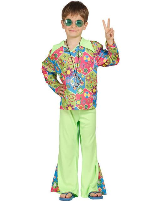 Strój Hipis kolorowy dla chłopca