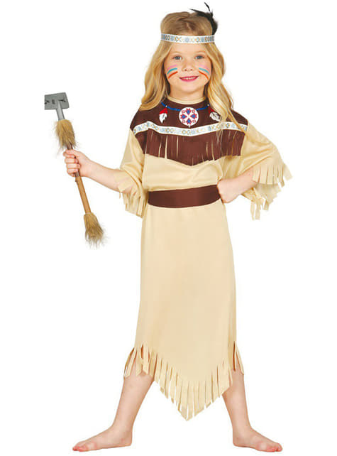 Indian Cherokee Costume for a girl