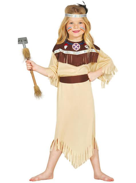 Strój Indianka Cherokee dla dziewczynki