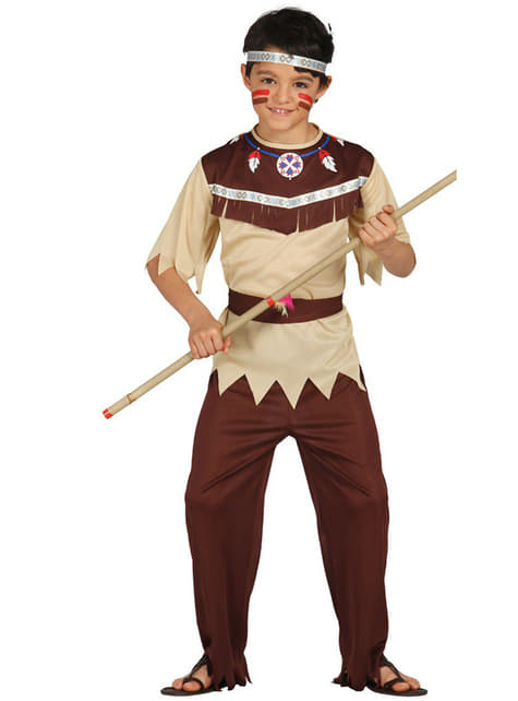Boys Cherokee Indian costume