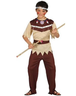 Sherokee indianer kostyme gutt