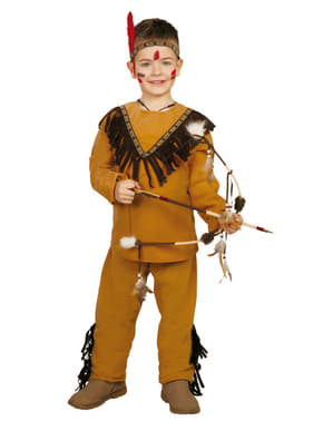 Costum de indian sălbatic pentru băiat