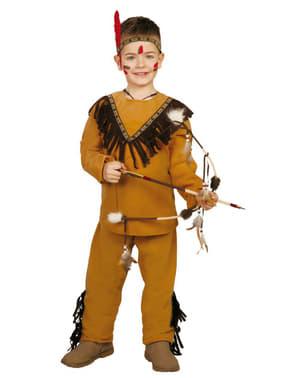 Fato de índio selvagem para menino