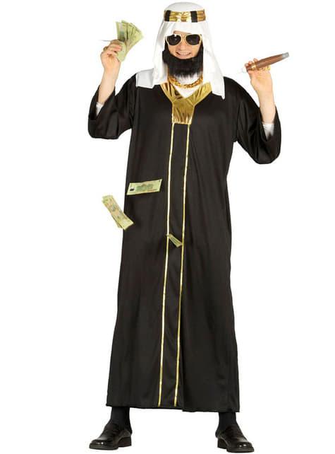 Fato de Sheikh petro-dolar para homem