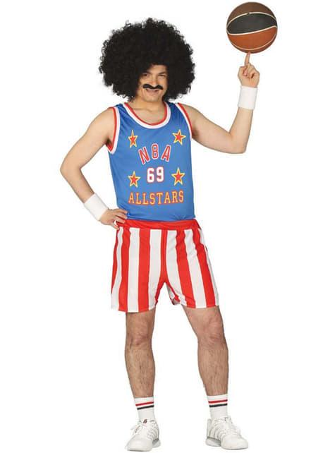 Amerikanisches Basketballspieler Kostüm für Herren