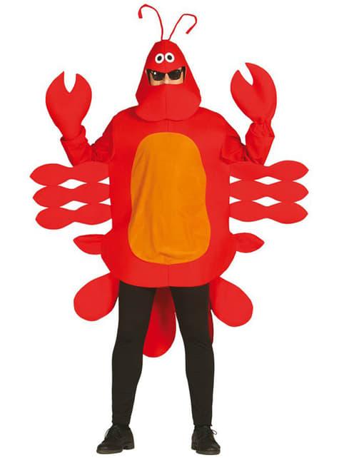 Fato de lagosta para adulto