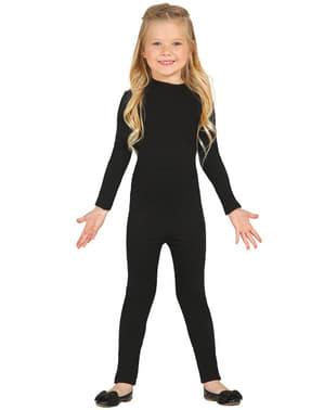 Дитячий чорний купальник