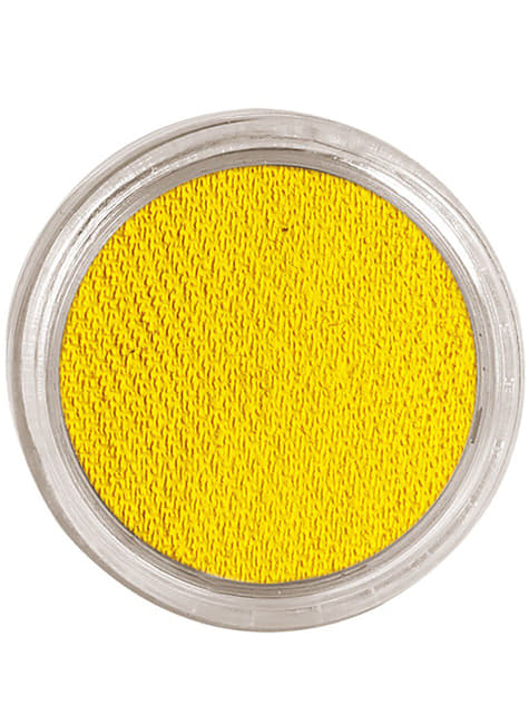 Water makeup yellow