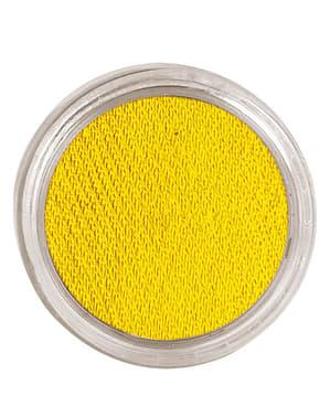Make up wodny kolor żółty
