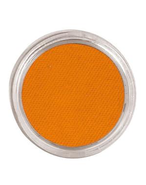 Machiaj acuarelă culoarea portocaliu