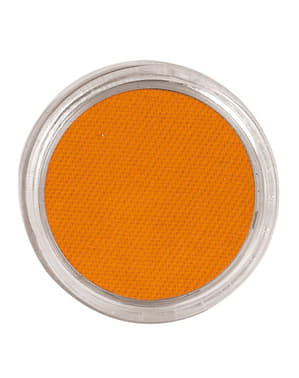 Maquillaje al agua color naranja