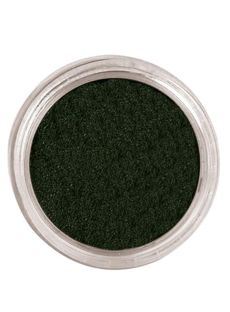 Maquillaje al agua color negro