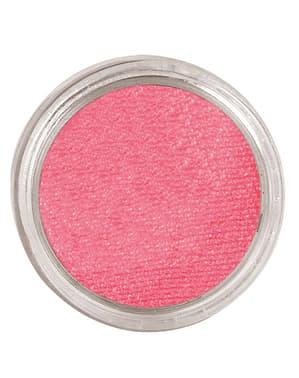 Maquillage à l'eau rose