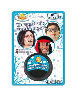 Makeup black teeth