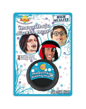 Maquillage à l'eau noir
