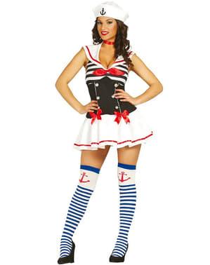 Costum de marinăriță seducătoare pentru femeie