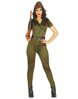 Costum de militar veteran pentru femeie