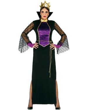 Ženska opaka kraljica u zrcalnom kostimu