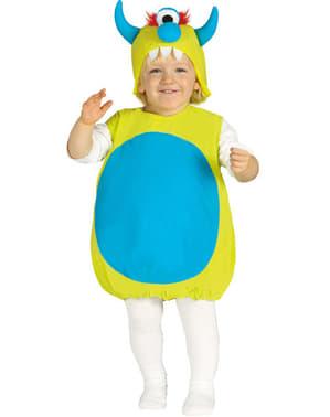 Disfraz de monstruito cíclope para bebé