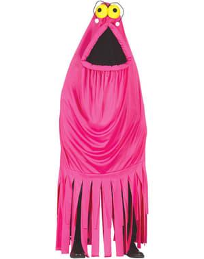 Roze zeemonster Kostuum voor vrouw