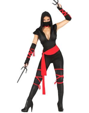 Ninja Maskeraddräkt för henne