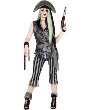 Zombie Pillager Pirate Costume for Women
