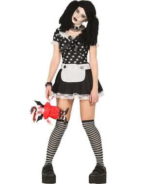 Costum păpușă fantomă diabolică pentru femei