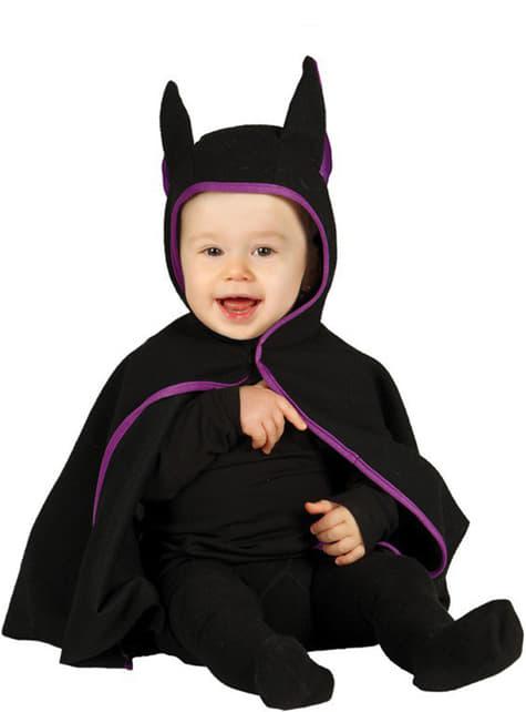 Disfraz de murciélago oscuro para bebé