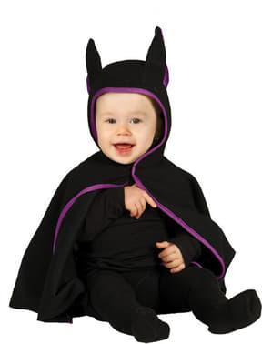 Mørk flagermusekostume til babyer