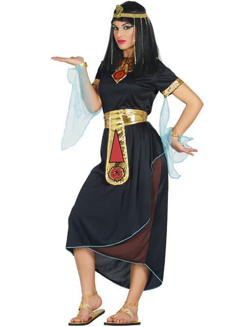 Zwart Cleopatra kostuum voor vrouw