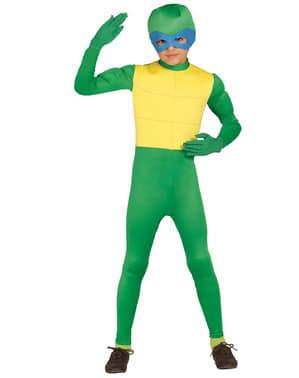 Ninja Kostüm grün für Jungen